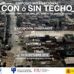 """SIMPOSIO INTERNACIONAL """"CON o SIN TECHO"""" - 15-18 OCTUBRE - LIMA (PERÚ)"""