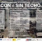 """Simposio Internacional """"CON o SIN TECHO"""". Lima octubre 2014 Mecanismos para la mejora del hábitat en América Latina"""