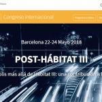 """FIU PARTICIPA EN EL CONGRESO INTERNACIONAL """"POST-HABITAT III"""", CELEBRADO E BARCELONA"""