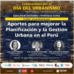 Ciclo de Debates Virtuales: Desafíos para la implementación de los PMUS en el Perú - Lunes, 23 de noviembre de 2020